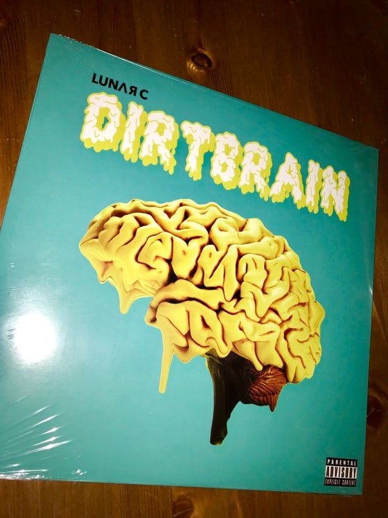 Image of Dirtbrain limited edition yellow vinyl