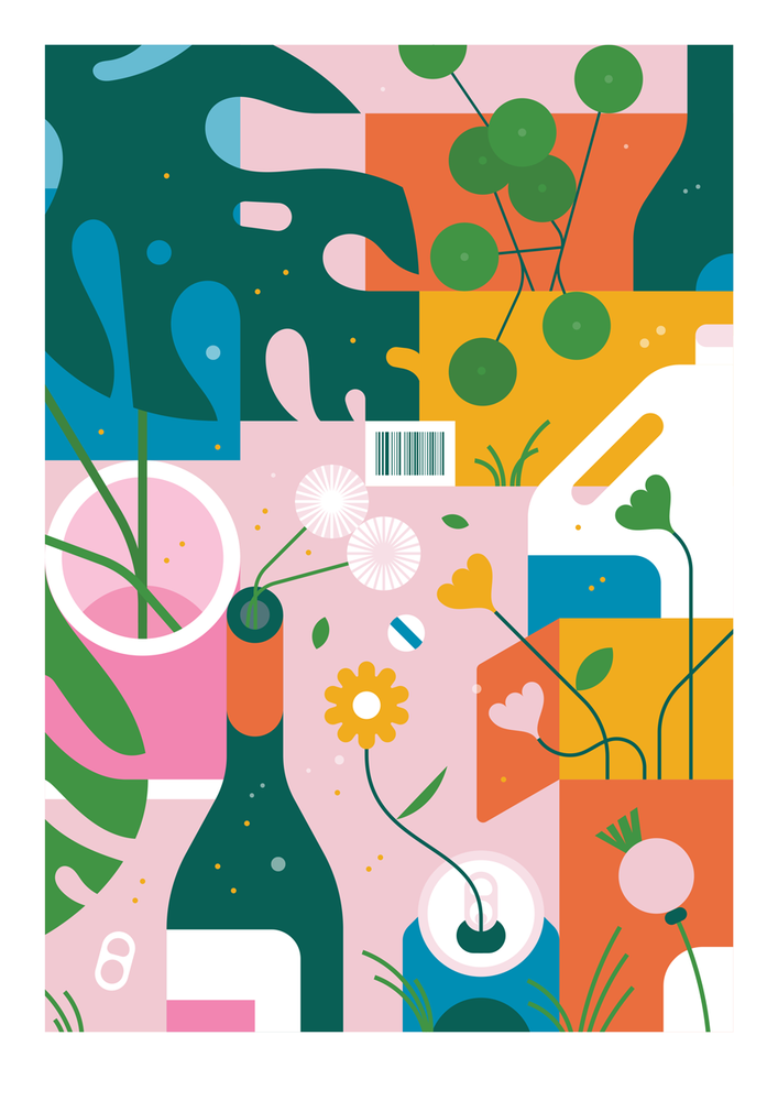 Image of Recycling A3 Giclée Print