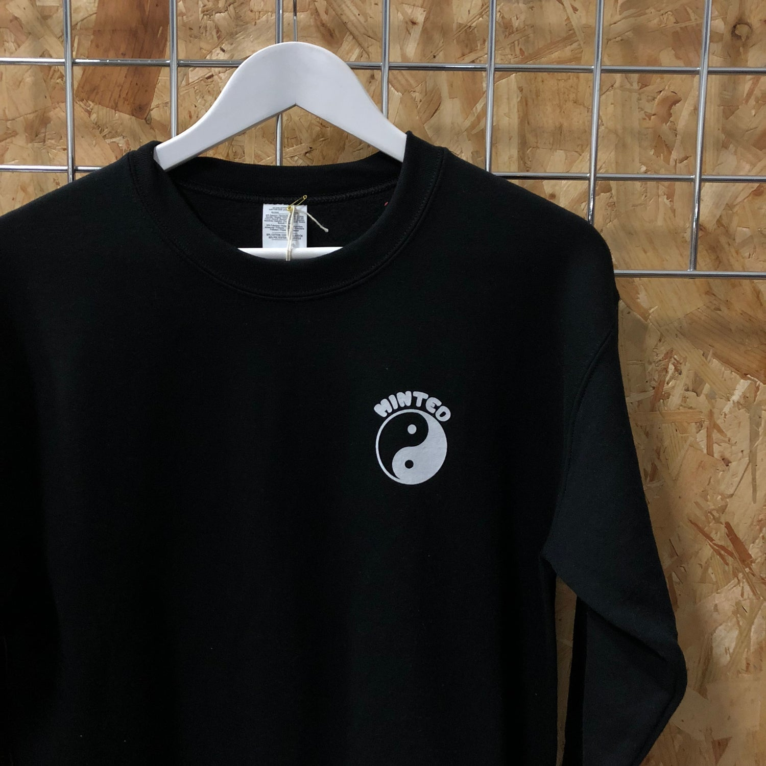 Image of Minted Dojo Sweat - Black