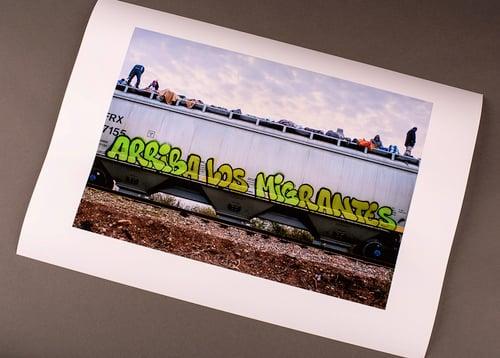 Image of Arriba los Migrantes Print