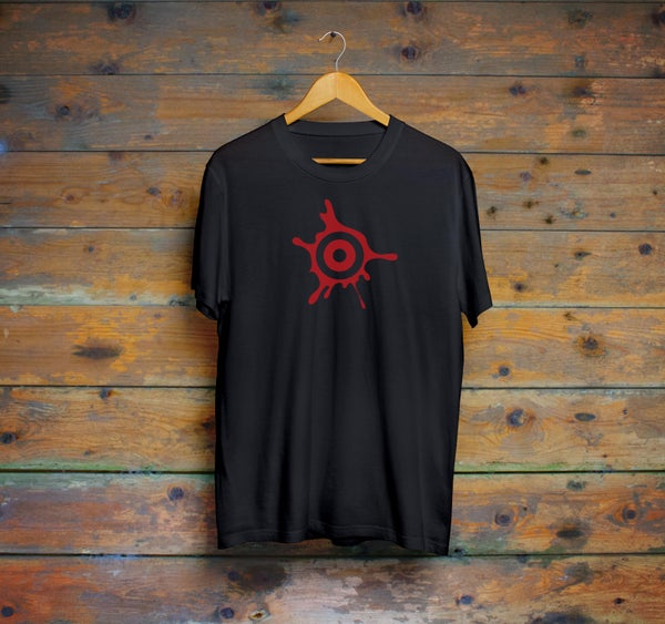 Image of Blood Target T-shirt by Firecat