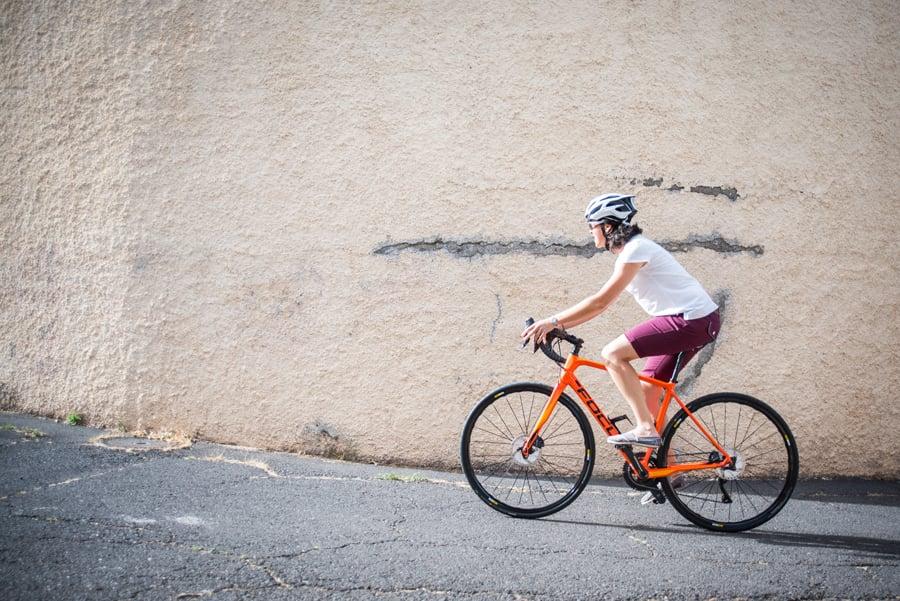 Image of Women's Climber Shorts Burgundy