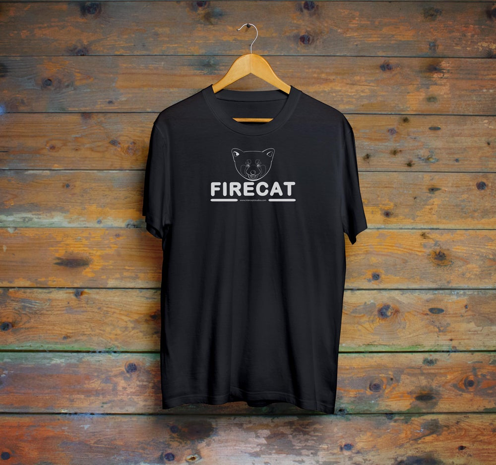 Image of Firecat logo T-shirt by Firecat