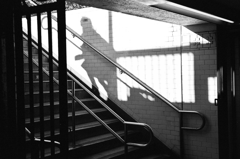 Image of Climbing Shadow, NYC, 2011