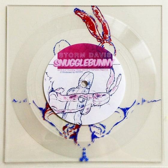 "Image of Storm Davis - Snugglebunny 7"" Lathe Cut Record"