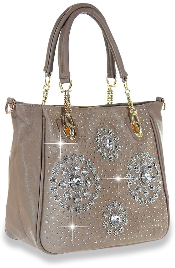 "Image of ""Sparkling"" Bling Tote Purse"