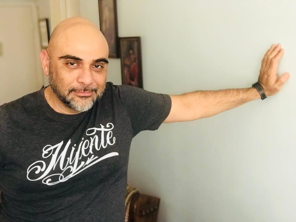 Image of Gray Mijente T-Shirt