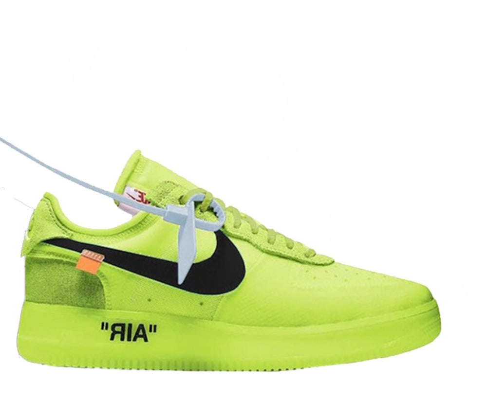 Image of NIKE X OFF WHITE AIR FORCE 1 LOW VOLT AO4606-700