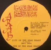 "Image of City Of The Weakheart/Police Officer - Earl zero (roots reissue 12"" vinyl)"