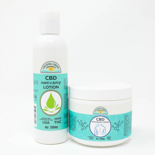 Image of Crystal Creek CBD Pain Cream & Lotion