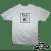 ((SIKA x ibun)) ibun white/black widow T-shirt