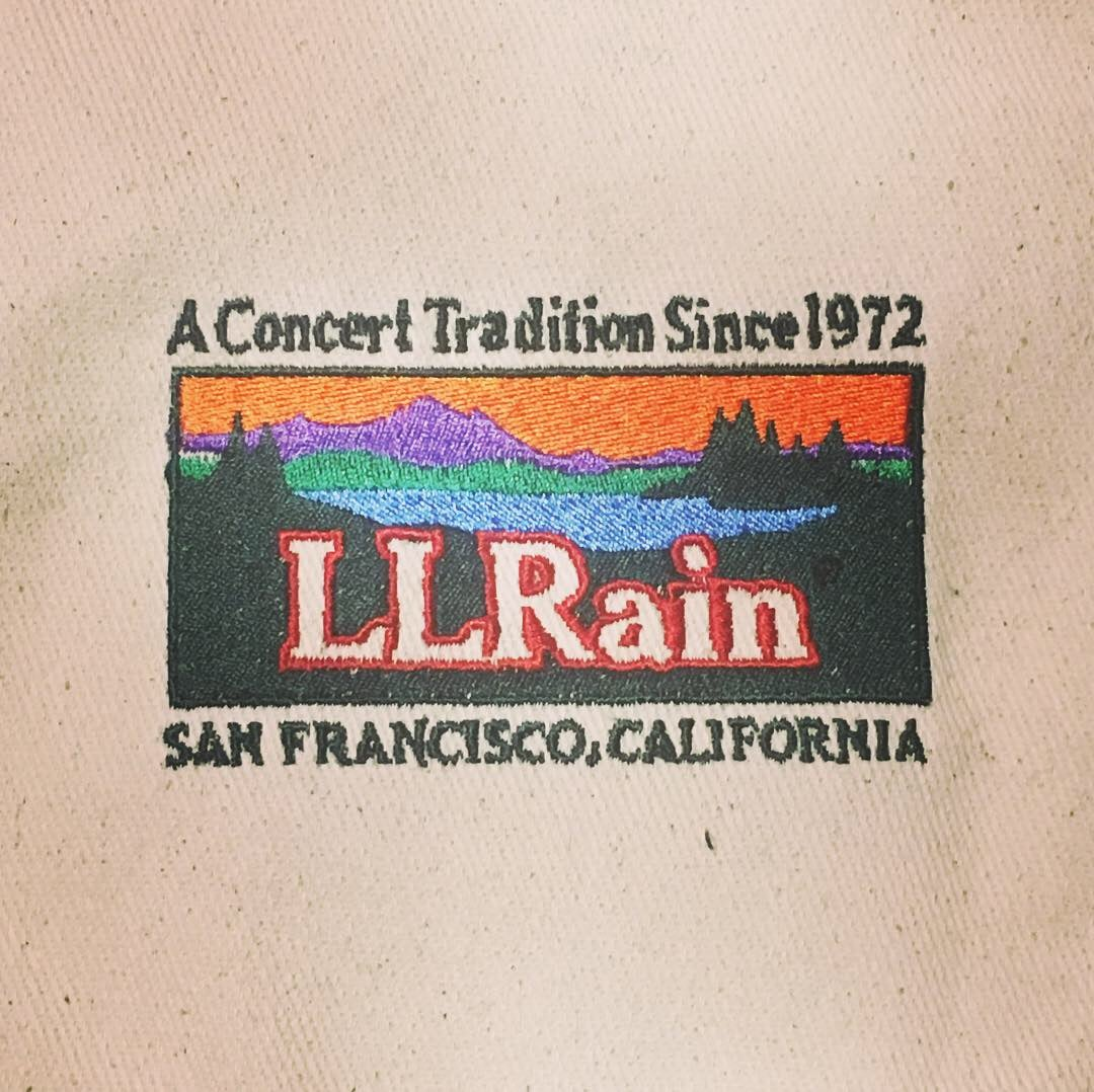 LL Rain Embroidered Tote Bags!!