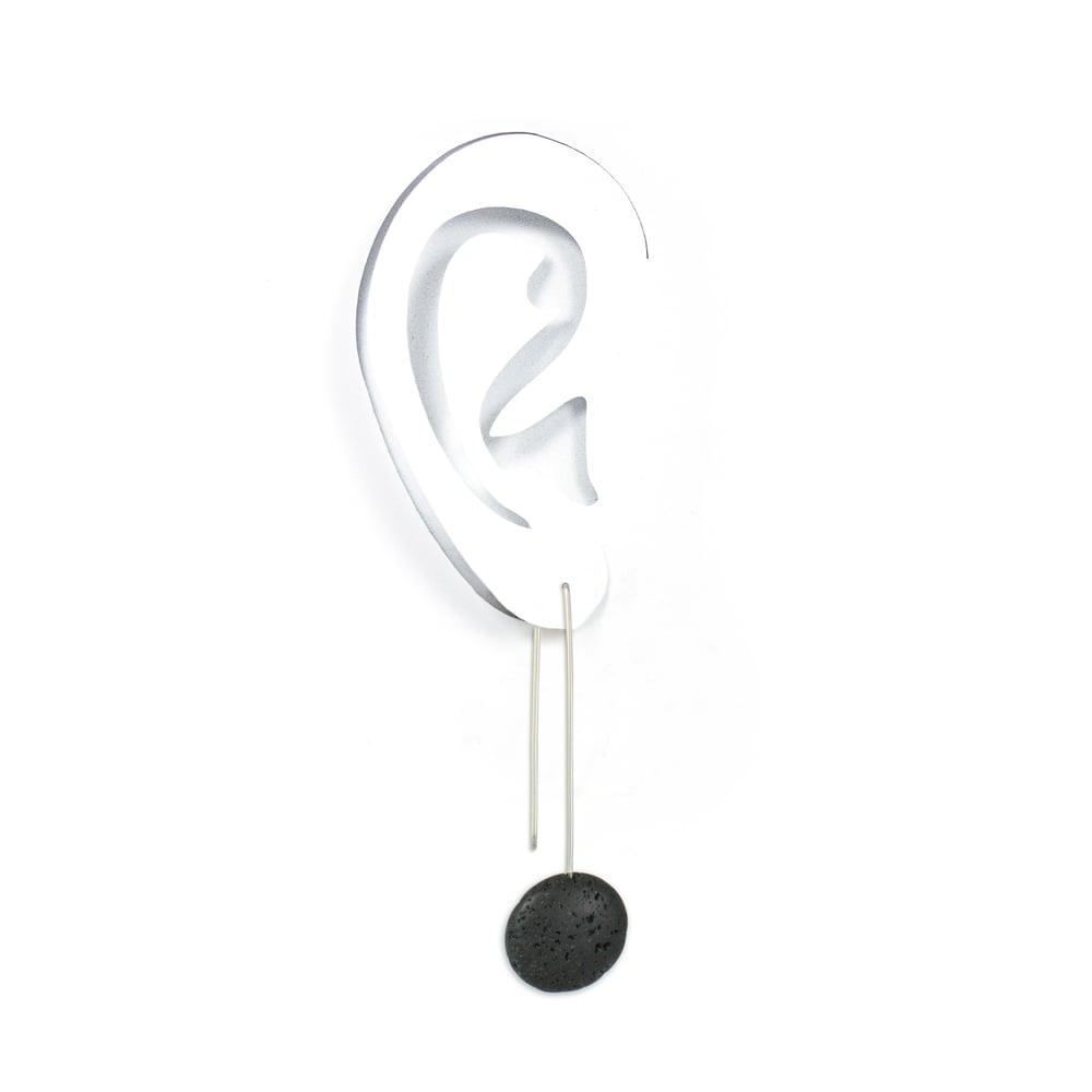 Image of LAVA drop earrings