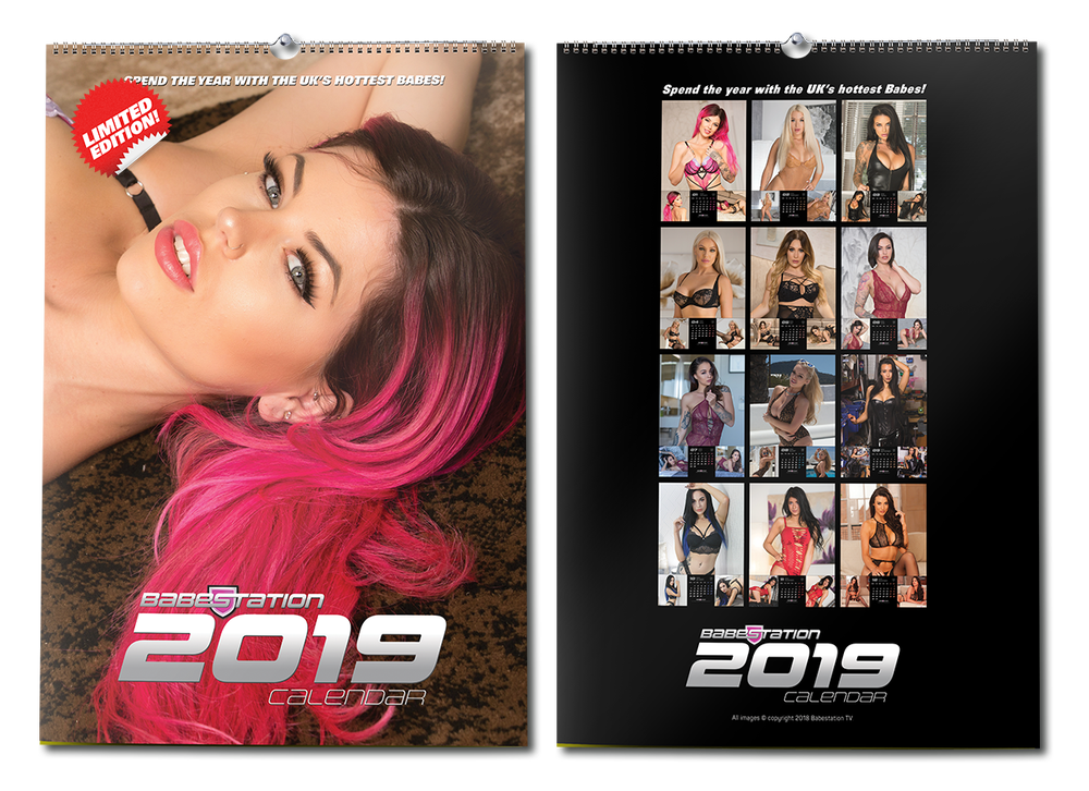 Image of Babestation Calendar 2019 LIMITED EDITION 10 ONLY!