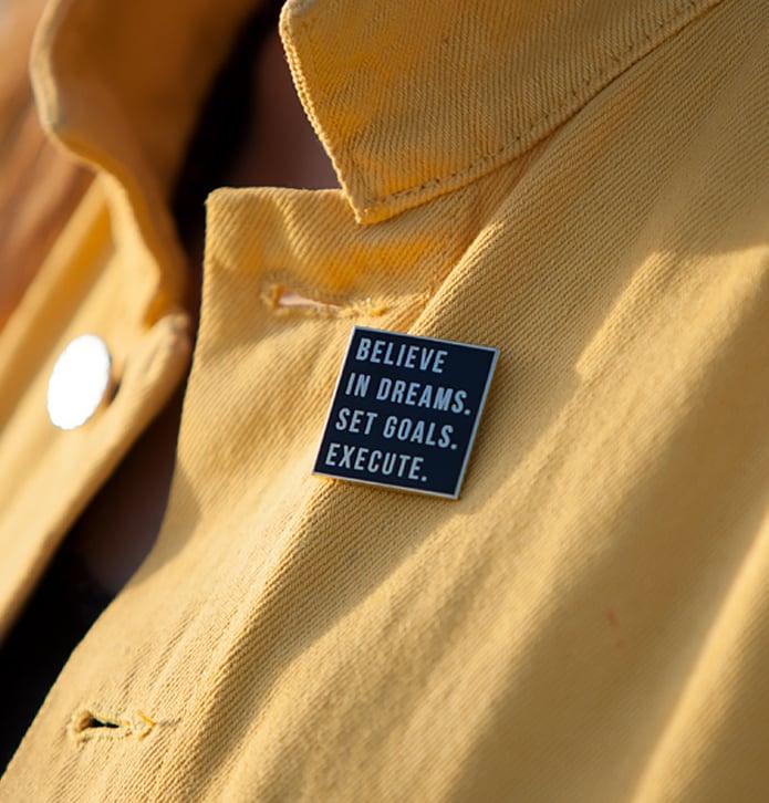 Image of Believe In Dreams Enamel Pin
