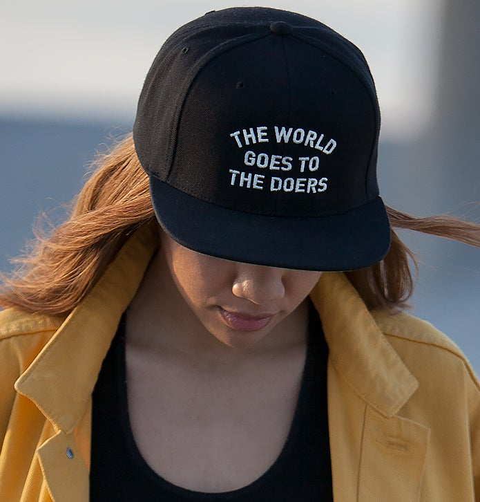Image of The World Goes to The Doers Snapback