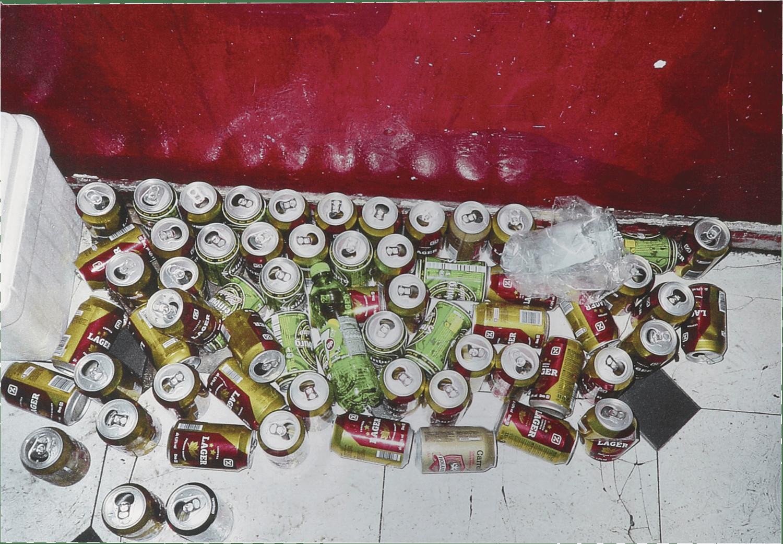 Image of HAPPY HOUR metallic print Collection - Happy Hour 45x31cm