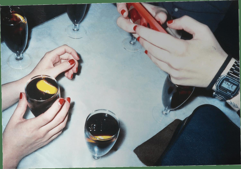 Image of HAPPY HOUR metallic print Collection - Yayos 45x31cm