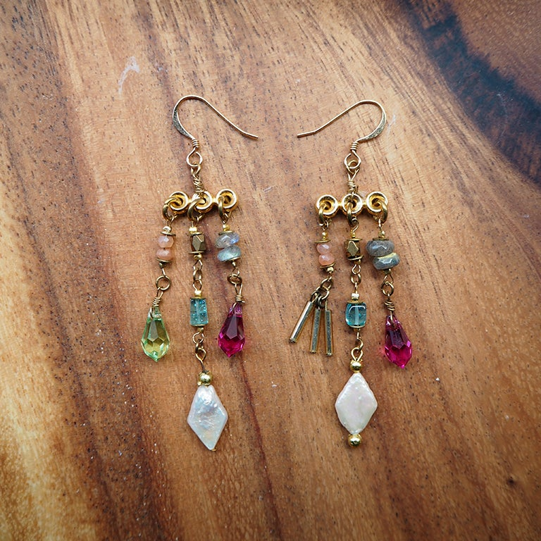 Image of Trinket Earrings (Mixed Jelly)