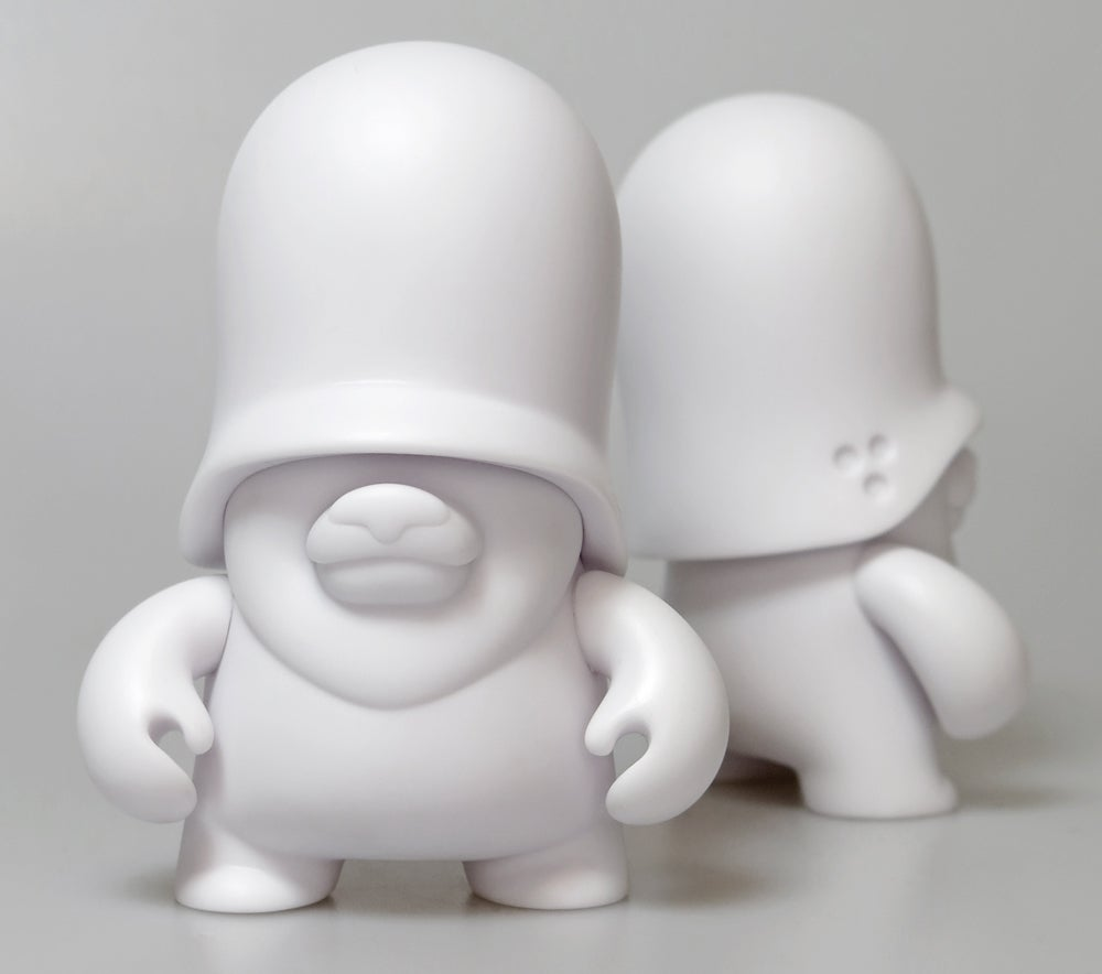 "Image of Teddy Troops 2.0 4"" DIY Regular / vinyl toy"