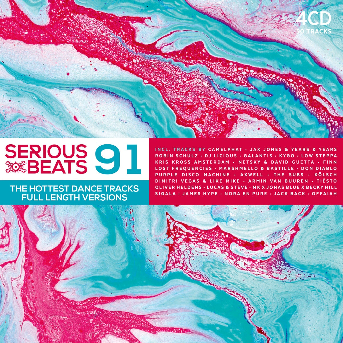 Image of VARIOUS ARTISTS - SERIOUS BEATS 91 (4CD)