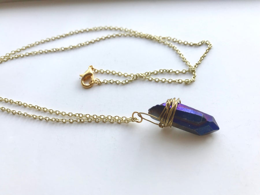 Image of Quartz boho drop