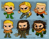 Image of Evolution of Aquaman