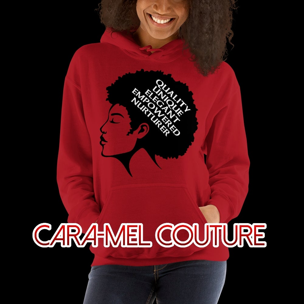 Image of  Red Afrocentric Hoodie
