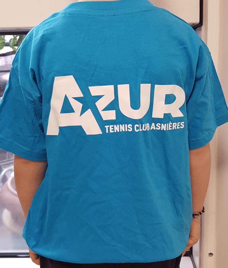 Image of T-shirt Tecnifibre bleu clair enfant