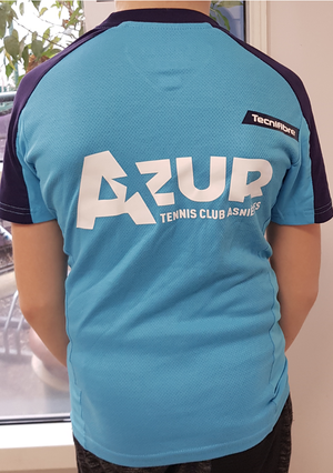 Image of T-shirt Tecnifibre bleu clair adulte