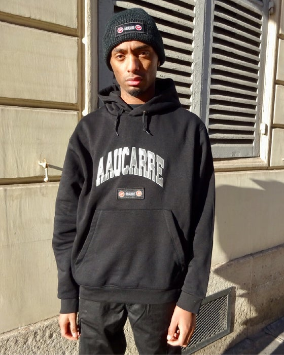 "Image of Hoodie ""University Reflective Black"""