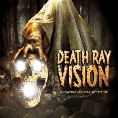 "Image of DEATH RAY VISION ""NEGATIVE MENTAL ATTITUDE"" CD"