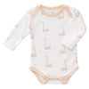 Peach Swan Organic Long Sleeve Body