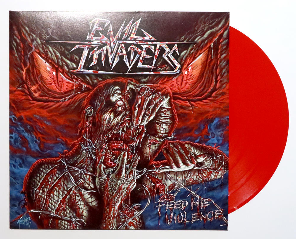 Image of Feed me Violence - Red vinyl (NEW)