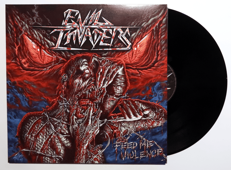 Image of Feed me Violence - Black vinyl (NEW)