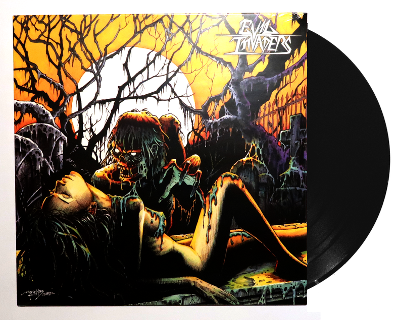 Image of Evil Invaders - Vinyl EP (2013) - Special artwork edition!