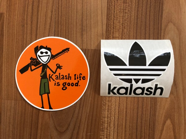 Image of KALASH / Kalash Life is Good Stickers