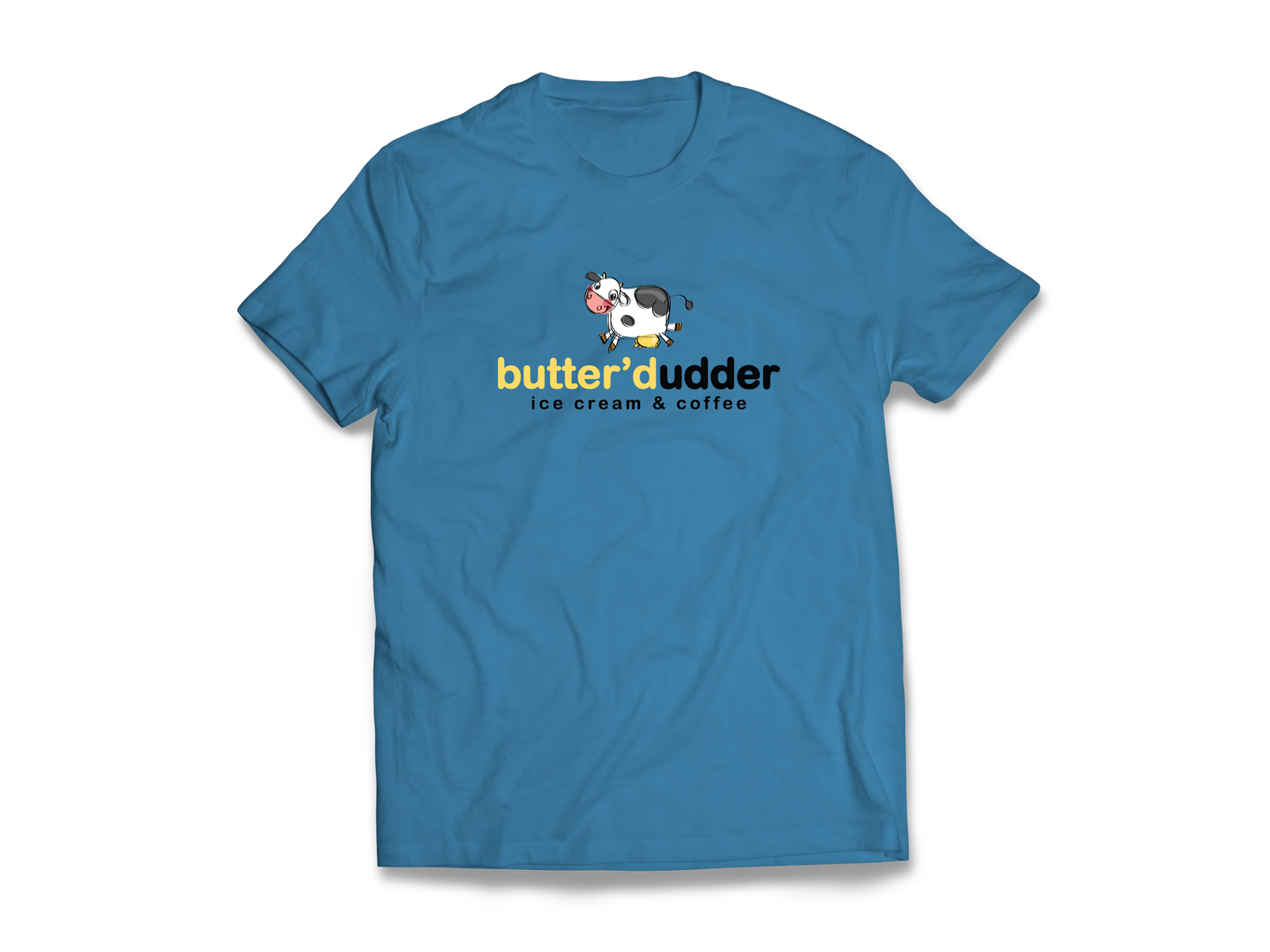 Image of Butter'd Udder T-Shirt (Blue)