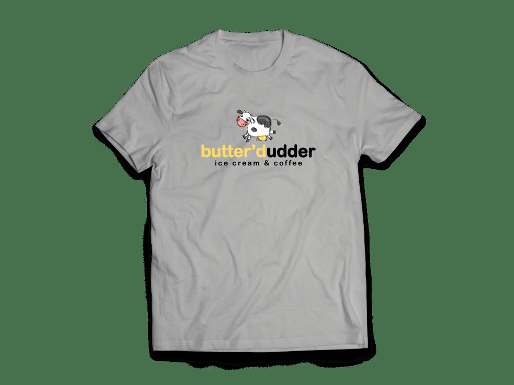 Image of Butter'd Udder T-Shirt (Gray)