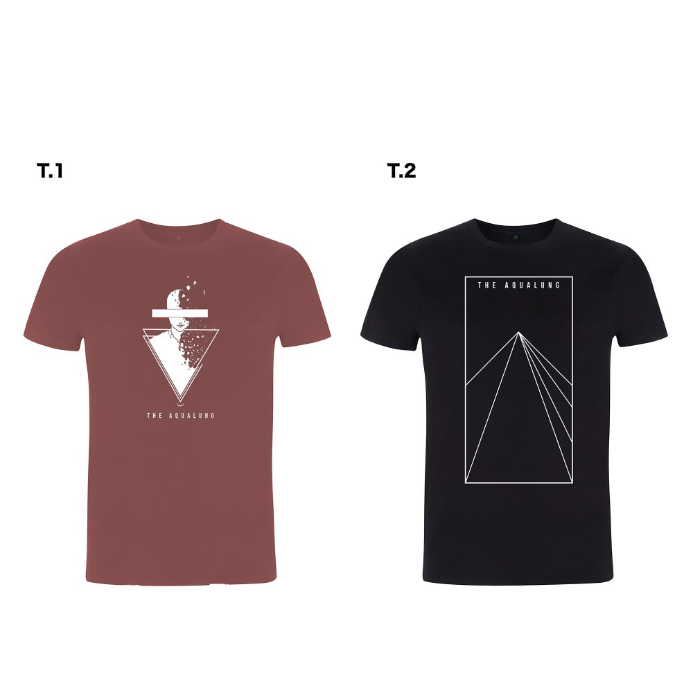 "Image of T-Shirt ""Fragments & Triangle Beam"""