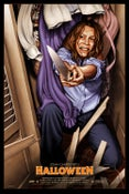 """Image of """"Halloween: Laurie Strode (regular)""""- 24"""" x 36""""  limited edition screen print"""
