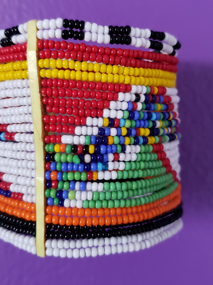 Image of Zawadi Multicolor Beaded Cuff