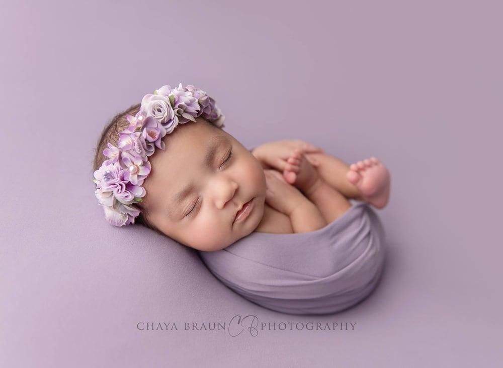 Image of Sawyer Wrap - dusty lavender