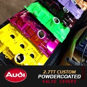Image of PROJECTB5 - POWDERCOATED 2.7TT VALVE COVERS