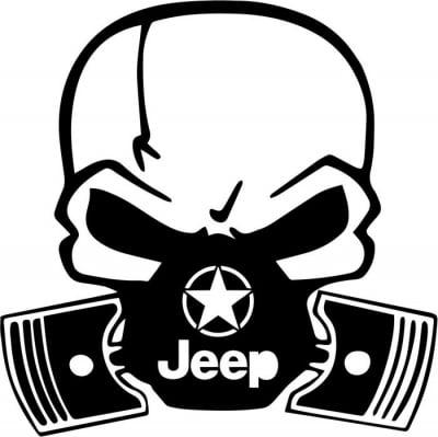 Image of Jeep Skull-Piston Mask