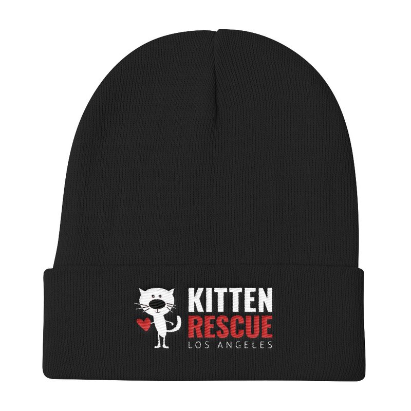 Image of Cold Weather? Kitten Rescue Knit Beanie