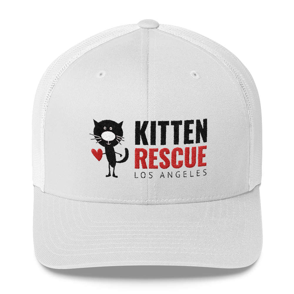 Image of Too Sunny? Kitten Rescue Trucker Hat