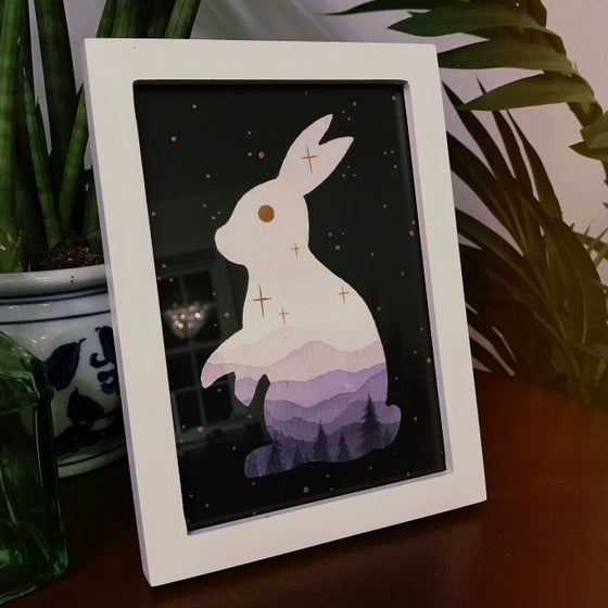 Image of Bunny - Original Painting