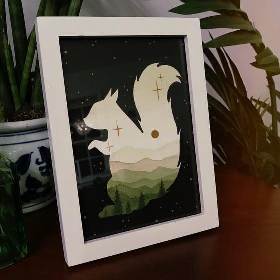 Image of Squirrel - Original Painting