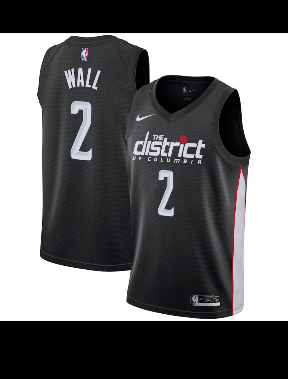Image of John wall city edition Washington wizards Jersey